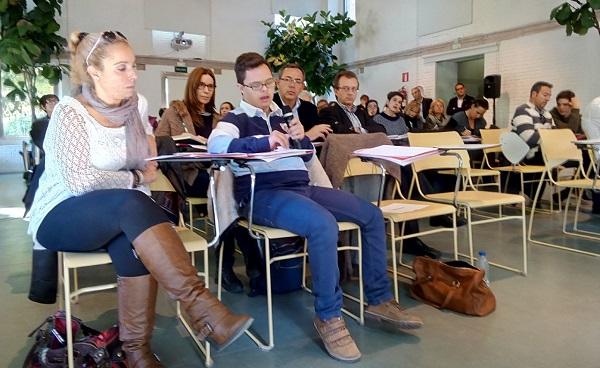 """David López durante la jornada """"Pacto de Estado por la educación basado en la equidad"""". FOTO: Grupo AMÁS."""