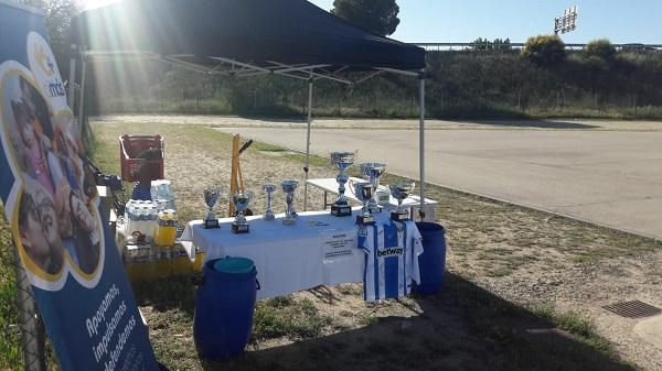 Trofeos entregados en la competición. Foto: Grupo AMÁS.